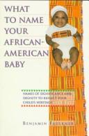 Download What to name your African-American baby