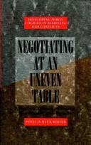 Download Negotiating at an uneven table