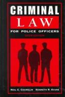 Download Criminal law for police officers