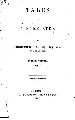 Tales by a Barrister