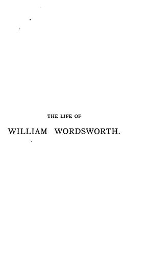 The Life of William Wordsworth