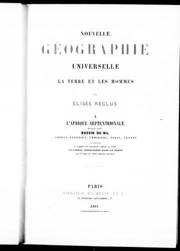 Download Nouvelle géographie universelle