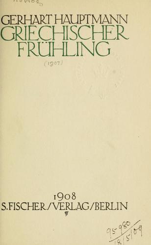 Download Griechischer Frühling.