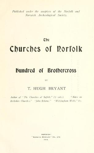 The churches of Norfolk