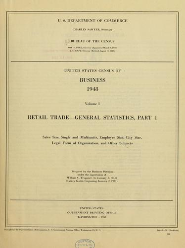 Download United States census of business, 1948.