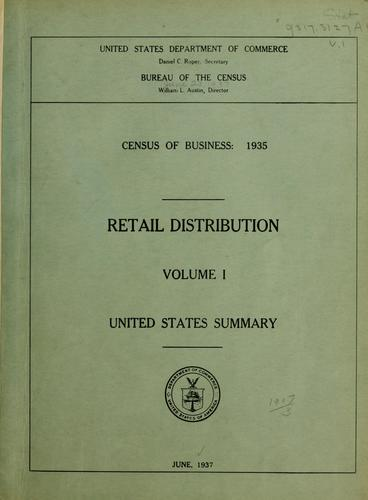 Download Census of business: 1935.