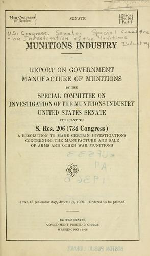 Download Munitions industry
