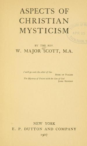 Download Aspects of Christian mysticism