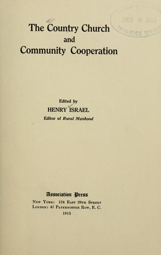 Download The country church and community cooperation