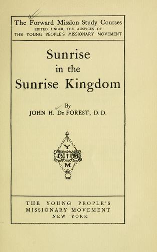Sunrise in the Sunrise kingdom