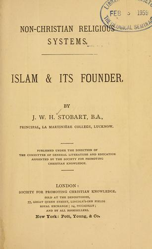Islam & its founder.