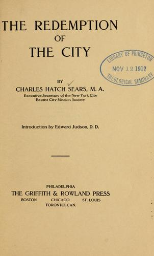 Download The redemption of the city