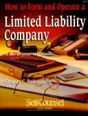 Download How to Form and Operate a Limited Liability Company