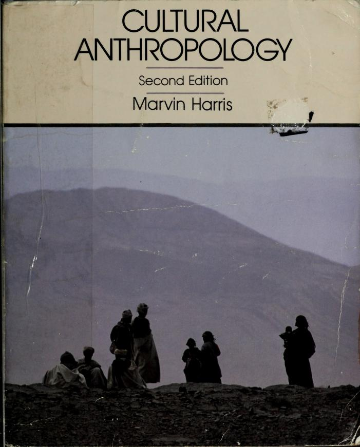 Cultural anthropology by Marvin Harris