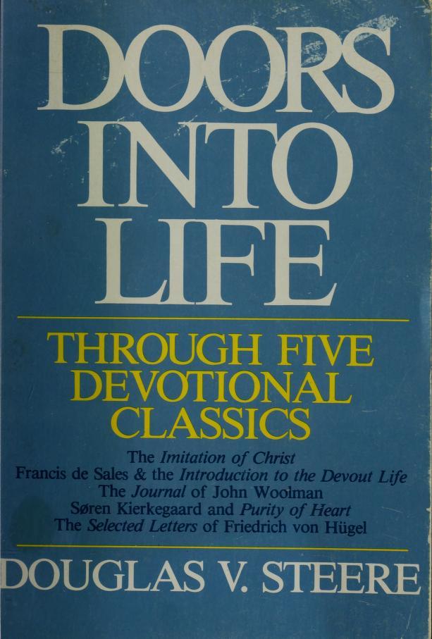 Doors into Life by Douglas V. Steere