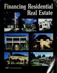 Cover of: Financing Residential Real Estate | Joseph F. Schram