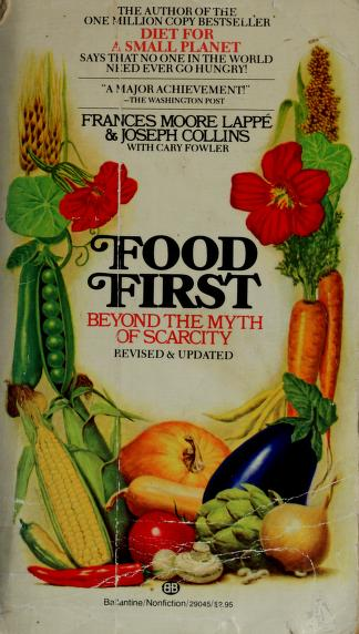 Food first by Frances Moore Lappé