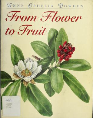 Cover of: FROM FLOWER TO FRUIT PA | Anne Ophelia Dowden
