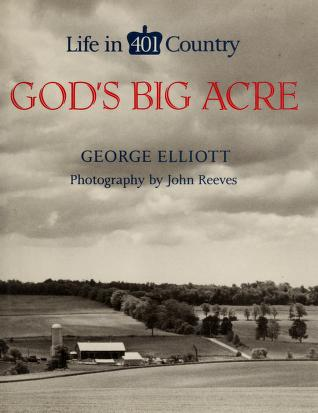 Cover of: God's big acre | Elliott, George