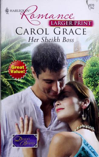 Cover of: Her Sheikh Boss | Carol Grace
