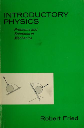 Cover of: Introductory physics | Fried, Robert