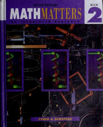 Cover of: Math Matters, Book 2 | Lynch