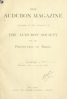 Cover of: The Audubon magazine | Audubon Society for the Protection of Birds