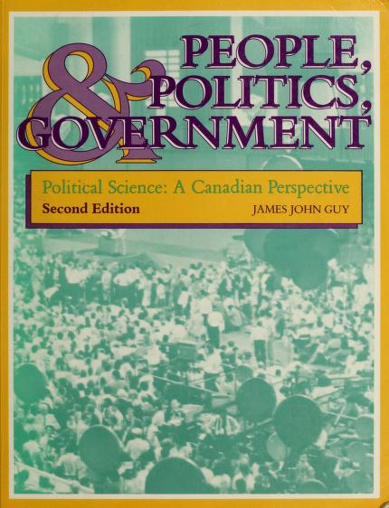 People, politics, and government by James John Guy