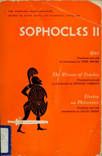 Cover of: Sophocles II | Sophocles