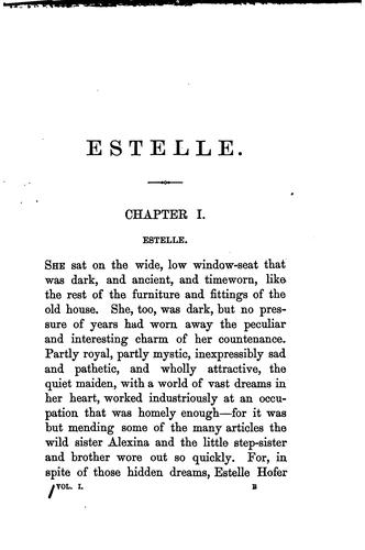 Estelle, by the author of 'Four messengers' by Emily Marion Harris