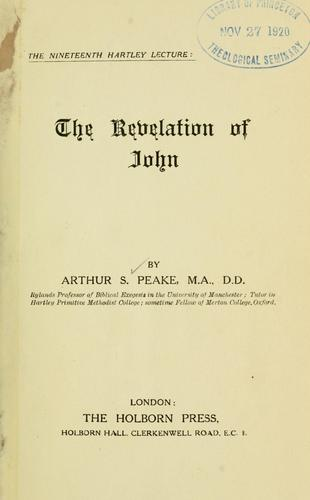 The Revelation of John.