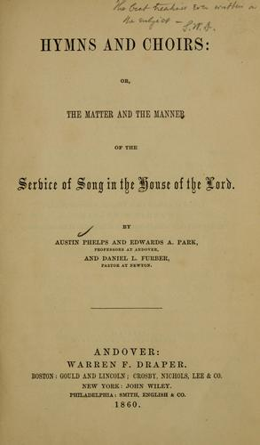 Hymns and choirs