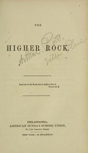 The higher rock. by