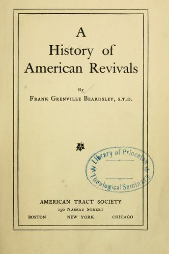 A history of American revivals.