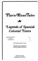 Puerto Rican Tales by Cayetano Coll Y Toste
