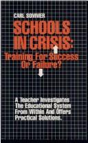 Schools in Crisis by Carl Commer