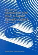 Handbook for pulp & paper technologists